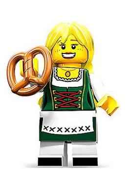 Lego Bavarian girl