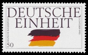 Briefmarke - Tag der deutschen Einheit