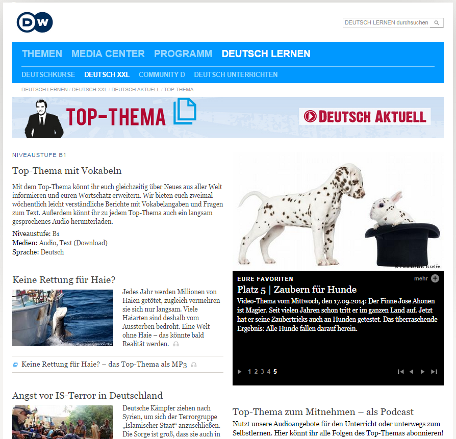 Deutsche Welle Top-Thema