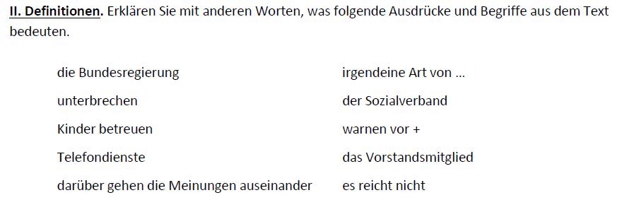 Teaching Deutsche Welle Top-Thema Arbeiten trotz Rente - Definitionen