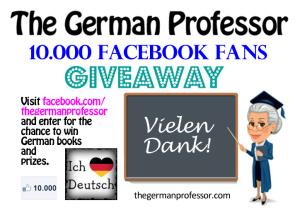 10.000 Facebook Fans Giveaway
