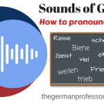How to pronounce ei and ie in German